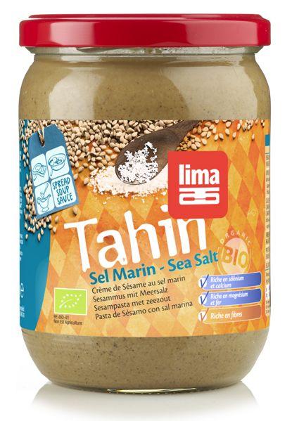 Tahini cu sare de mare bio 500g Lima 0