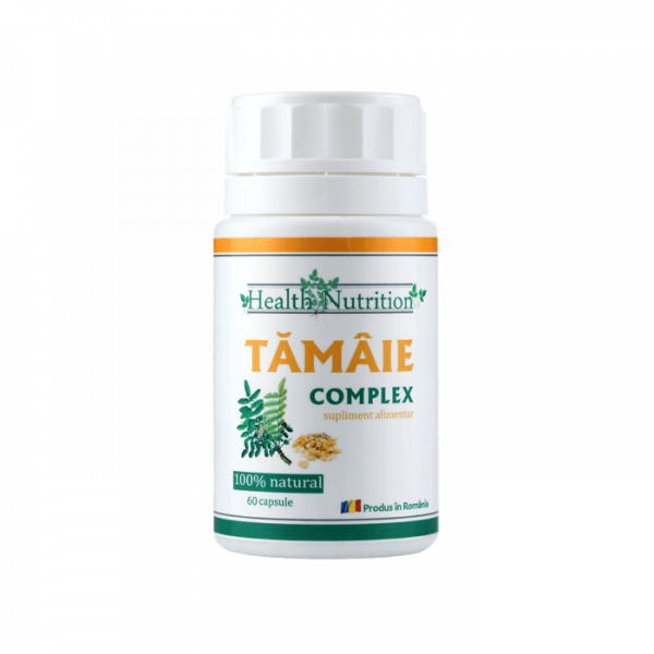 Tamaie Extract 100% naturala, 60 capsule, Health Nutrition 0
