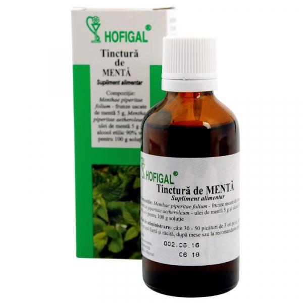 Tinctură de Mentă, 50 ml, Hofigal [0]