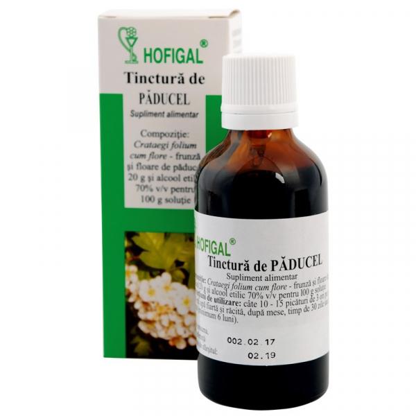 Tinctură de Păducel, 50 ml, Hofigal [0]