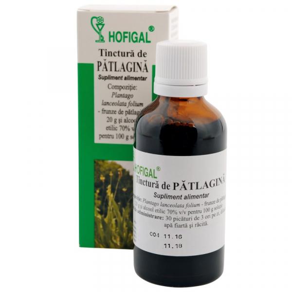 Tinctură de Patlagină, 50 ml, Hofigal [0]