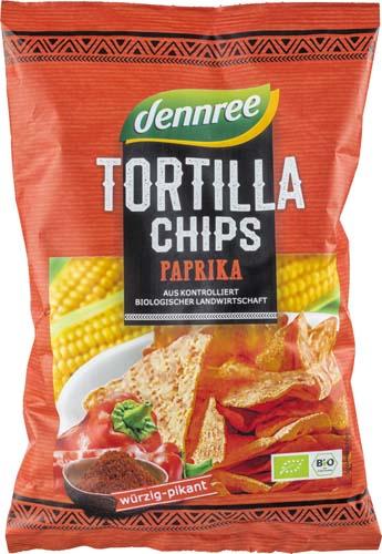 Tortilla chips cu ardei eco 0