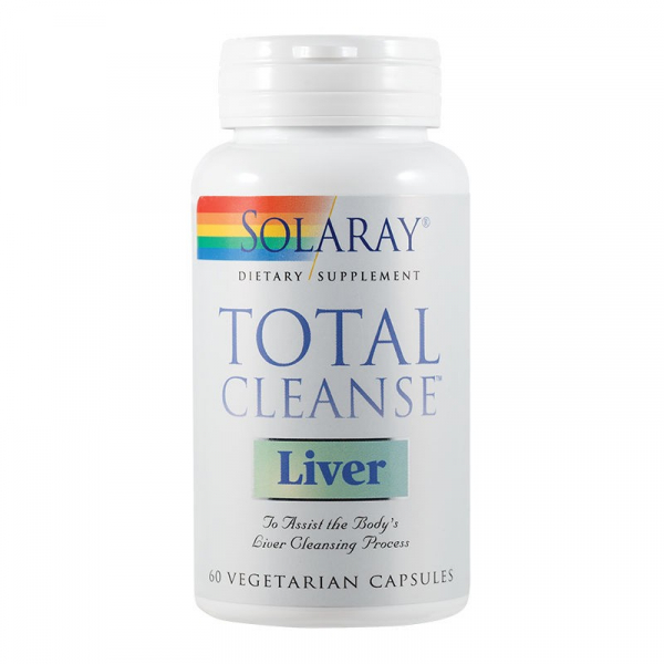 Total Cleanse Liver Solaray, 60 capsule 0