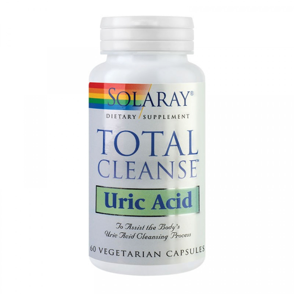 Total Cleanse Uric Acid Solaray, 60 capsule 0