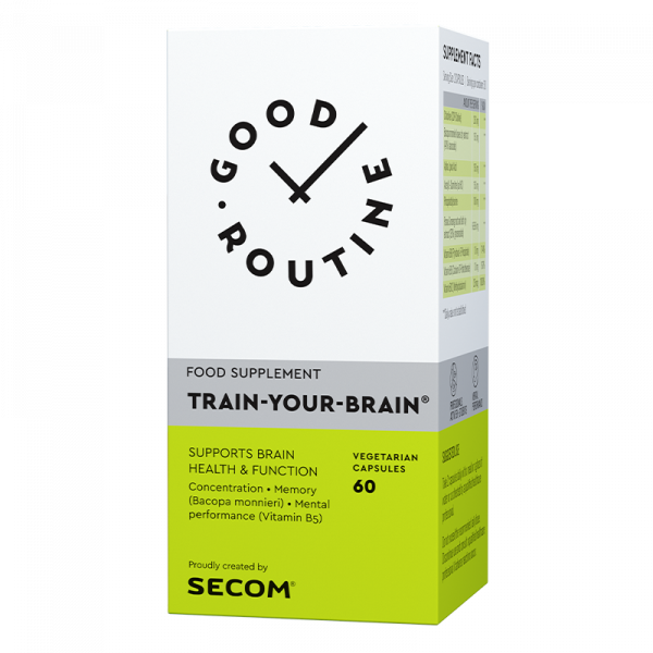 Train-your-brain, 60 capsule, SECOM GOOD ROUTINE 0