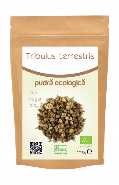 Tribulus Terrestris pulbere bio 125g 0