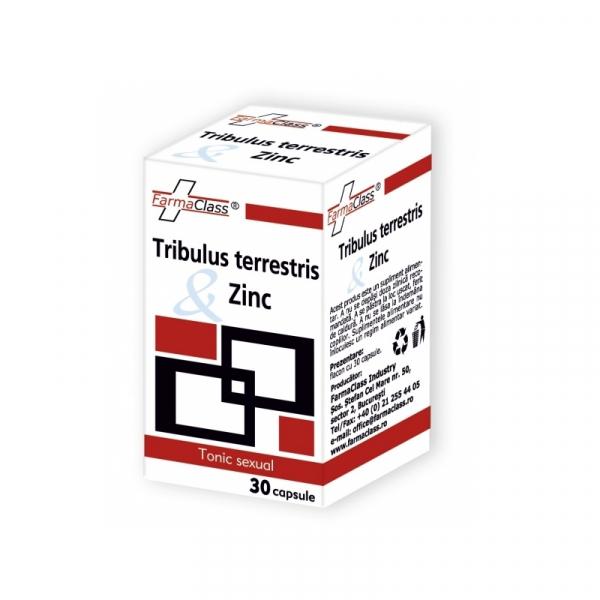 Tribulus terrestris & Zinc, 30 capsule, FarmaClass 0