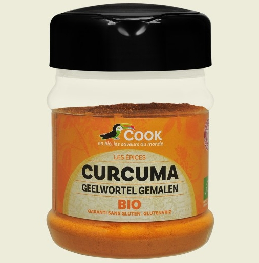 Turmeric pudra bio 200g Cook 0