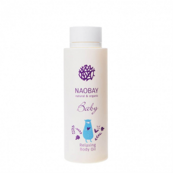 Ulei de corp BIO relaxant pentru copii, Naobay, 200 ml 0