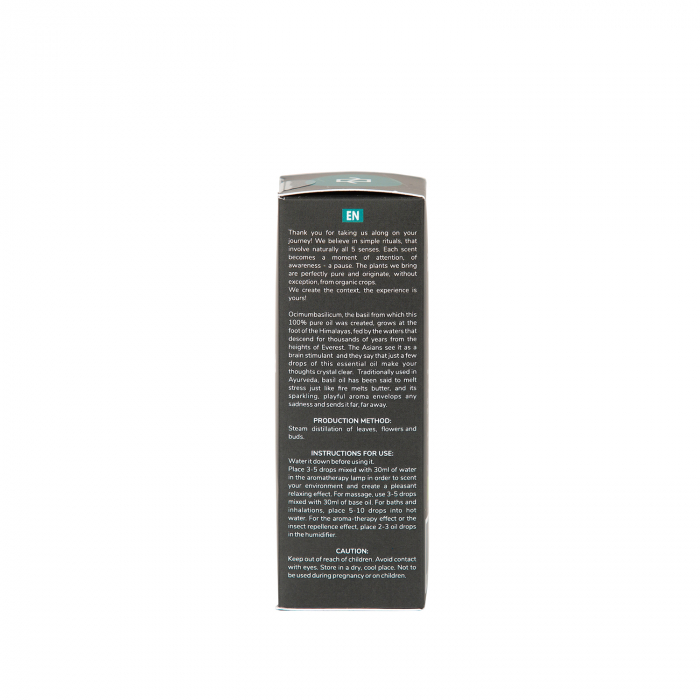 Ulei esential de busuioc bio 15 ml [2]