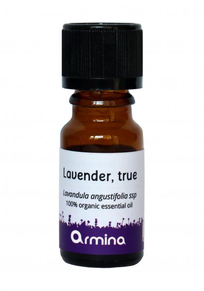 Ulei esential de lavanda (lavandula angustifolia) bio 10ml 0