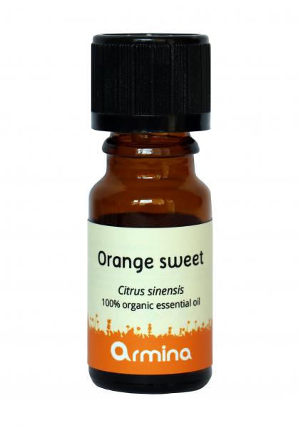 Ulei esential de portocala dulce (citrus sinensis) bio 10ml 0