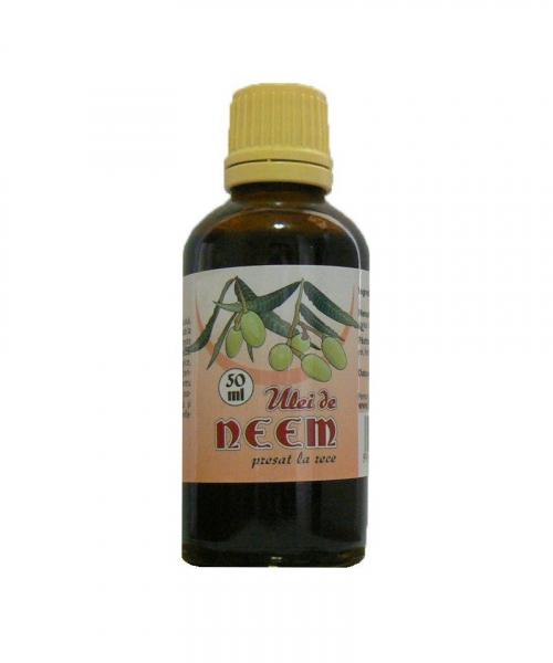 Ulei de Neem, 50 ml, Herbavit 0