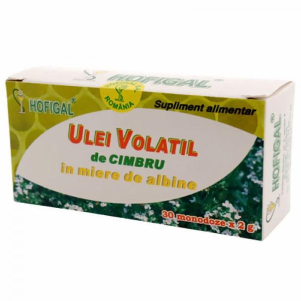 Ulei volatil de Cimbru în miere de albine, 30 monodoze, Hofigal [0]