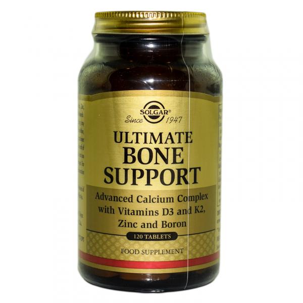 Ultimate Bone Support Complex, 120 tablete, Solgar 0