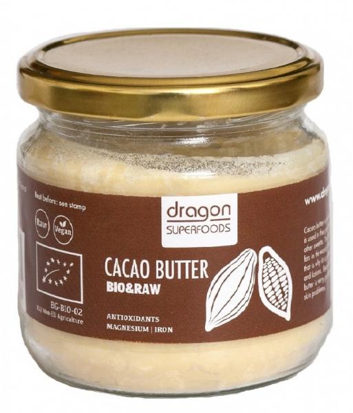 Unt de cacao raw bio 100g 0