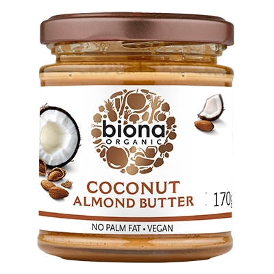 Unt de migdale si cocos bio 170g Biona 0