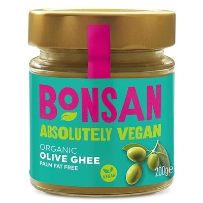 Unt Ghee vegan din ulei de masline eco 200g Bonsan 0