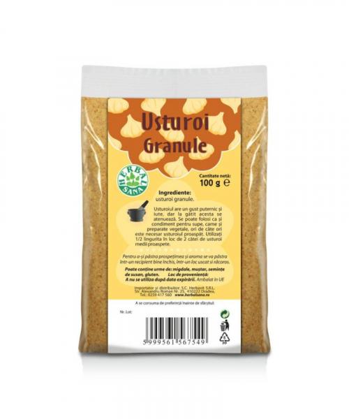 Usturoi Granule, 100g, Herbavit 0
