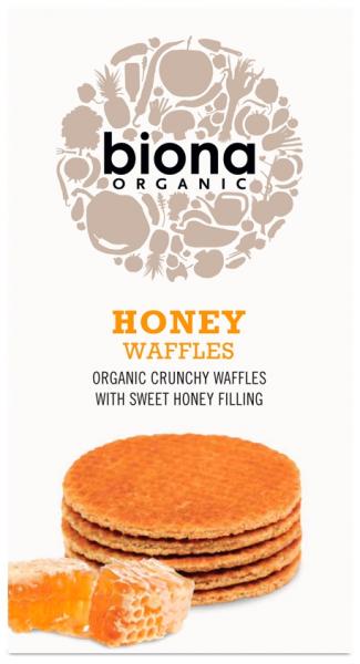 Vafe cu miere bio 175g Biona 0