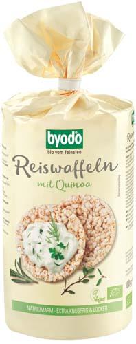 Vafe din orez si quinoa FARA GLUTEN 0
