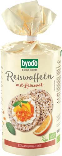Vafe din orez si seminte de in FARA GLUTEN [0]