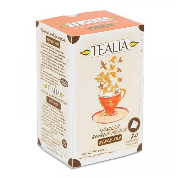 Vanilla&ginger peach ceai 20dz 0