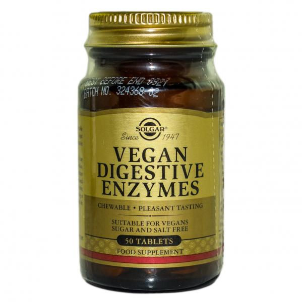Enzime digestive vegetale  50cps 0