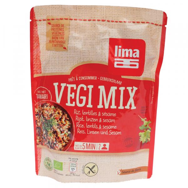 Vegi mix orez, linte si susan bio 250g 0