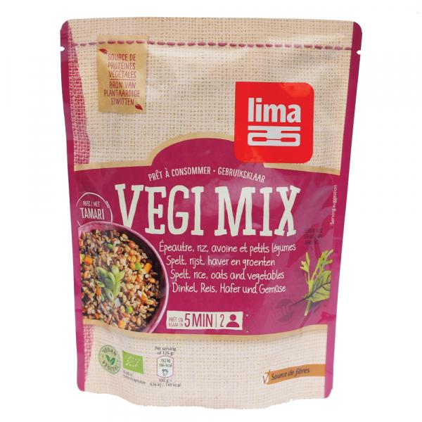 Vegi mix spelta, orez, ovaz si legume bio 250g 0