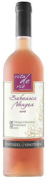 Vin Babeasca Neagra rose bio 0