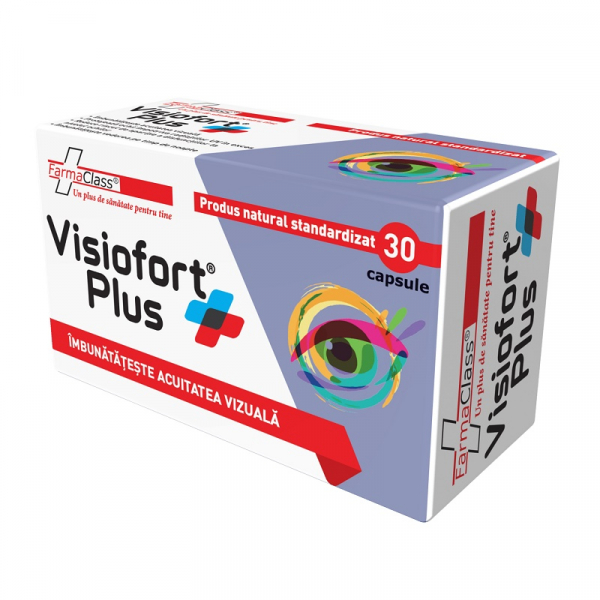 Visiofort Plus, 30 capsule, FarmaClass 0