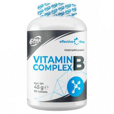 VITAMIN B COMPLEX, 90 TABLETE, 6PAK NUTRITION 0