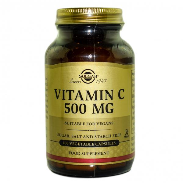 Vitamina C 500mg veg.100cps SOLGAR 0