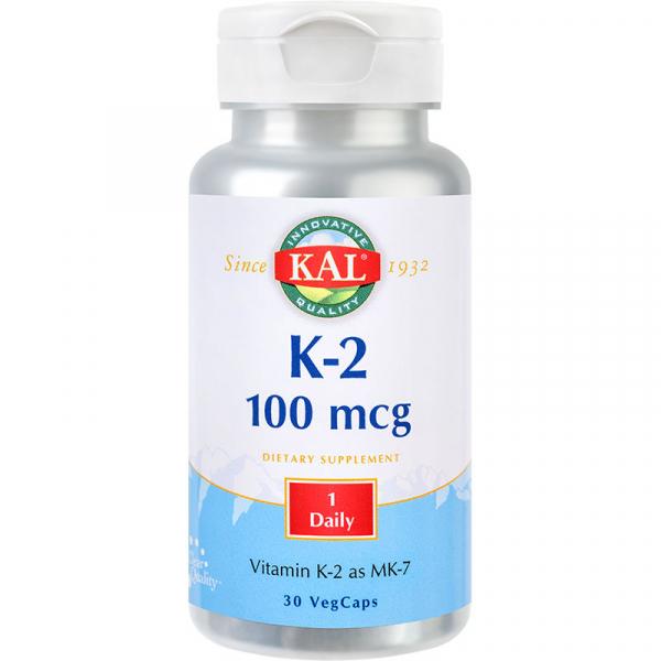 K-2 100mcg Kal, 60 tablete, Secom 0