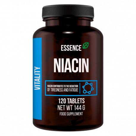 Vitamina B3 niacina 120 tablete, Essence 0