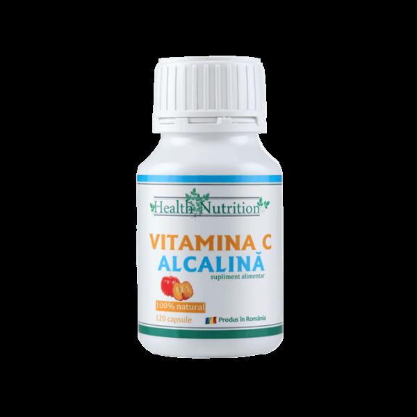 Vitamina C alcalina, 120 capsule 0