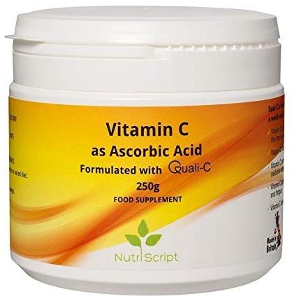 Vitamina C pulbere 250g Nutriscript 0