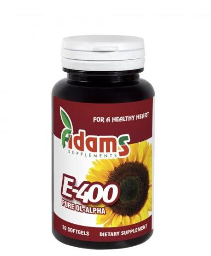 Vitamina E-400 (sintetica), 30 capsule, Adams Vision 0