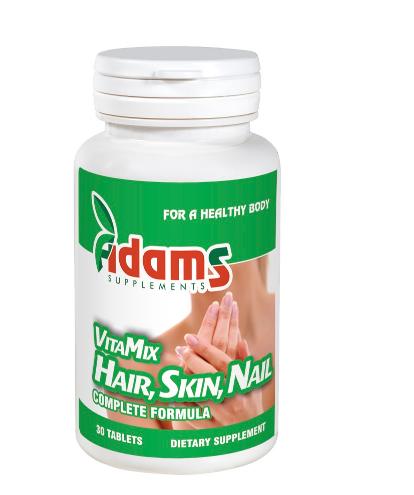 VitaMix Hair Skin & Nail (AV120), 30 tablete, Adams Vision 1