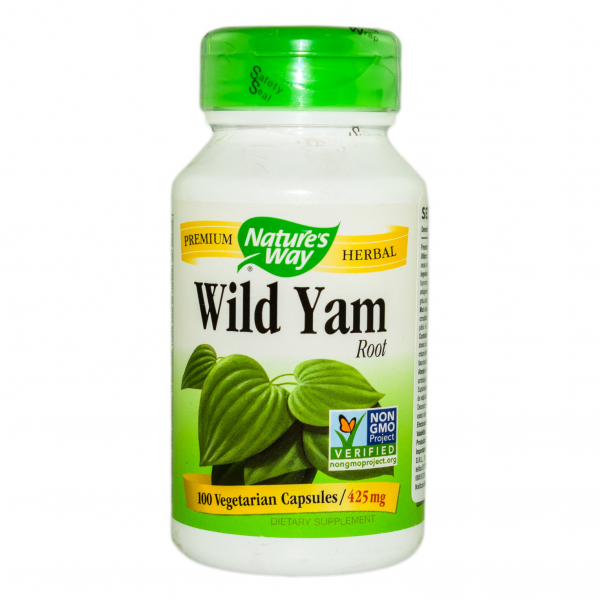 Wild Yam Root Nature's Way, 100 capsule, Secom [0]