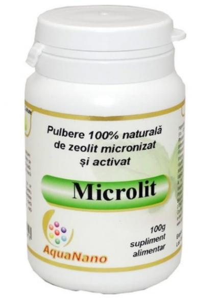 Zeolit micronizat si activat, microlit 100gr, Aghoras Invent [0]