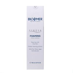 Spuma pentru curatarea fetei cu ulei de macese si Aloe Vera, Sireia - Bio Mer, 150 ml [2]