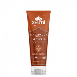 Exfoliant facial cu Lemn de Santal si Ylang Ylang, Ayumi, 125 ml [0]