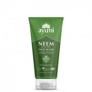 Gel de curatare faciala cu Neem Tea Tree, Ayumi, 150 ml [0]
