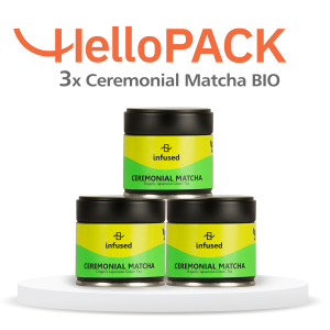 HelloPACK - 3 x Matcha BIO Ceremonial0