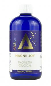 Magneziu coloidal Magne Joy 70ppm, Pure Alchemy 480 ml, Aghoras Invent0