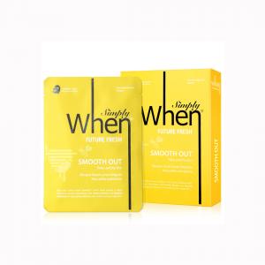 Set Masca hidratanta si revigoranta pentru ten obosit, Future Fresh, 115 ml, Simply When (5 buc)0