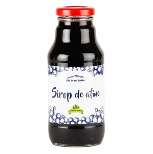 Sirop de afine, 330 ml, Bio MonTANA