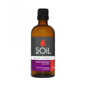 SOiL Ulei Baza Grape Seed - Seminte de struguri - 100% Organic ECOCERT 100ml0